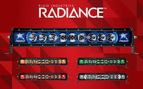 Rigid 30 Led Light Bar by Rigid U201cradiance U201d Series Led Light Bars 10 50in Camburg Engineering