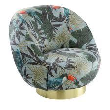 Armchair Shop Tropical Ingrid Swivel Armchair Shop Marioni Online At Artemest