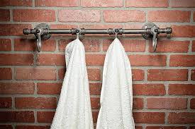 industrial coat rack wall hook robe hook home decor bath