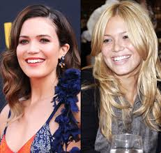 natural color of yolanda fosters hair mandy moore hated her blonde hair and bangs