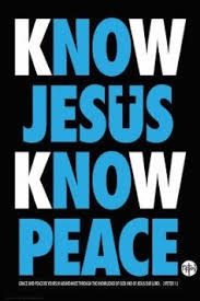 buy jesus peace religious poster 24x36 custom fit with