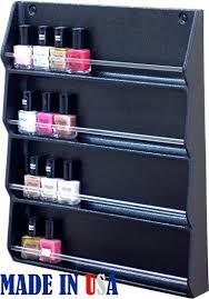 amazon com dina meri 345 nail polish rack organizer wall mounted