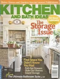 kitchen and bath ideas magazine kitchen bath ideas magazine september october 2008 storage issue