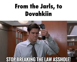 Stop Breaking The Law Meme - jarls ifunny