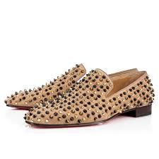 dandelion spikes flat grege popcorn suede men shoes christian