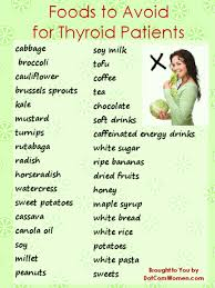 list of foods to avoid for thyroid patients women u0027s health