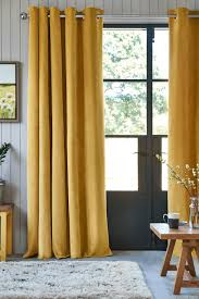 decor ideas for living room on trends velour eyelet curtains