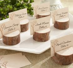 country and rustic wedding favors table set vintage woods classic