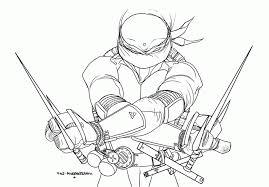 easy teenage mutant ninja turtle coloring pages coloring
