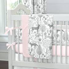 Solid Pink Crib Bedding Solid Pink Crib Bedding