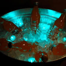 lumabase teal submersible led lights box of 12 69012 the home