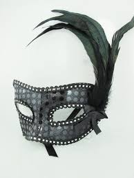 masquerade masks with feathers sequin masquerade mask with feathers