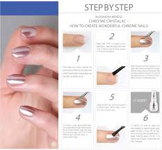 how to cure gel nails without a uv light how to use the chrome crystalac