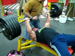 Training For Bench Press Competition Derek Poundstone 500 Lb Bench Press For Reps Youtube