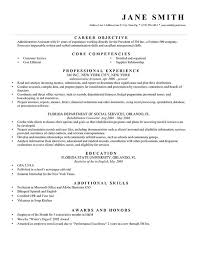 How To List Job Experience On A Resume by Writing Objective For Resume 22 Sample Objective On A Resume How