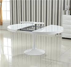 table de cuisine ronde blanche table de cuisine ronde avec rallonge table ronde blanche avec