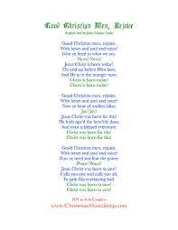 printable lyrics good christian men rejoice lyrics