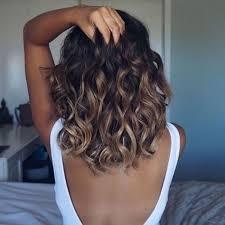 medium length hair with ombre highlights trendy hair highlights ombré brown caramel highlights for