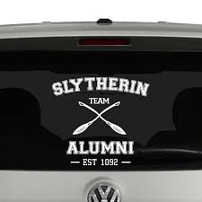 hogwarts alumni decal team alumni harry potter inspired vinyl decal sticker