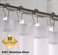 Decorative Shower Curtain Rings Roller Shower Curtain Rings Ideas Photogiraffe Me