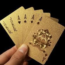 where to buy gold foil aliexpress buy golden cards deck gold foil set
