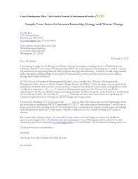 sample cover letter for summer internship cover sample cover