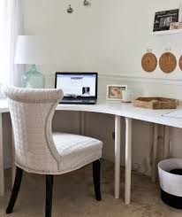 Corner Desk Office Furniture Furniture Ikea Linnmon Adils Corner Desk Setup Ideas For Home