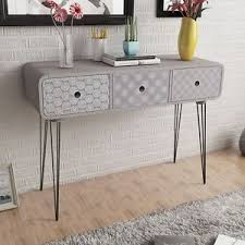 hairpin leg console table bedroom dressing cabinet console table grey hairpin legs lounge room