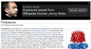 Wikipedia Donation Meme - a personal appeal from wikipedia founder jimmy wales to read this