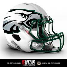 which futuristic nfl helmet design do you like best football