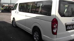 toyota van philippines joy long 15 seater toyota 2 5cc turbo diesel engine youtube