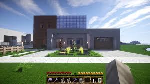 House With Garage Minecraft Survival Mode Building 03 Modern House U0026 Garage
