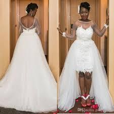 cheap wedding dresses plus size cheap wedding dress plus size 2017 detachable a line white
