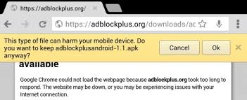 adblock plus android apk how to install adblock plus 1 1 for android and bypass s