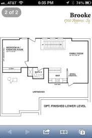 finished basement floor plans chandler model basement floor plan chandler by homes