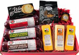 meat and cheese baskets meat and cheese gourmet food gift basket with
