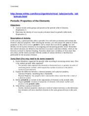 introduction to periodic table lab activity worksheet answer key periodic table study resources