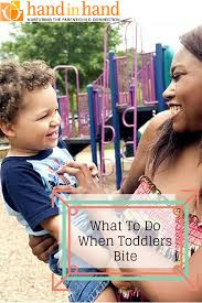 Parenting Your Kids With Love And Affection what to do when toddlers bite hand in hand parenting