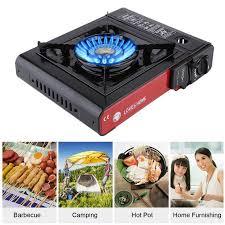 portable table top butane stove barbecue grill portable single burner outdoor butane gas cing