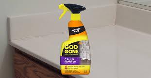 how to remove caulk goo gone