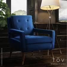 Yellow Velvet Armchair Draper Navy Velvet Chair Tov Furniture Metropolitandecor