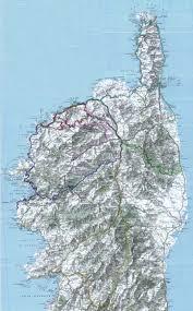 Corsica Map Corsica