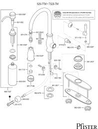price pfister kitchen faucet repair parts 529 series hanover