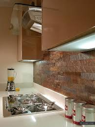 copper backsplash tiles for kitchen copper slate subway backsplash tile backsplash