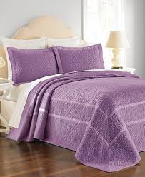 Macy S Bed And Bath Closeout Martha Stewart Collection Flowering Trellis Iris Quilt