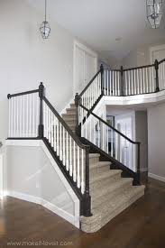 Wooden Banister Spindles Model Staircase Stairs How To Replace Stair Spindles Easily