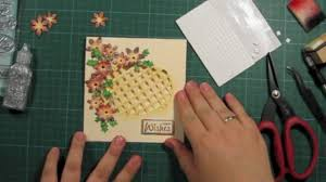 how to make a window lattice card with poinsettia flowers