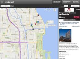 Rush Street Chicago Map by Marriott Responsive Eightshapes