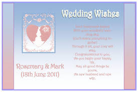 wedding wishes poem 25 sweet wedding poems