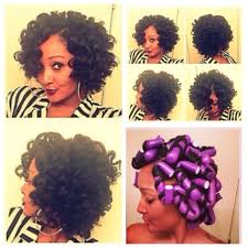 how to salvage flexi rod hairstyles there is nothing like a shaped fro 13 natural hair bob styles